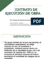 Francisco Echevarria-11!11!2010-El Contrato de Ejecuci%c3%93n de Obra