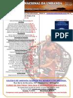 Jornal Nacional Umbanda Ed 16