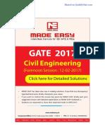 CE GATE-2017 Sol Session 1