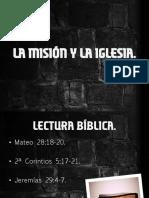 La misión y la iglesia.