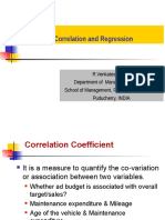 Session-Correlation and Regression