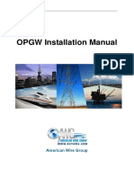 Installation Manual for OPGW Cable(1)