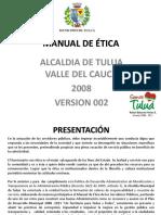 Principios Deontologicos Manual de Etica