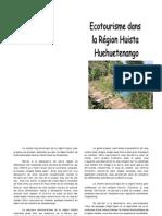 Guide écotouristique de la région Huista