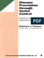 Disease Prevention Through Vector Control