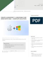 Create a Windows 7