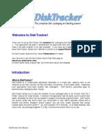DiskTracker User Manual
