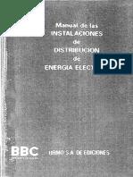 E-Book Manual de Instalaciones de Distribucion de Energia Electrica