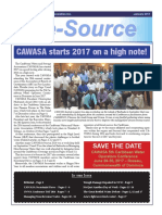 CAWASA Inc. e-Source Magazine January 2017 | Caribbean Water & Sewerage Association Newsletter