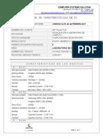 Informe Servicio Tecnico