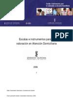 Escalas e Instrumentos Para La Valoracion en Atencion Domiciliaria