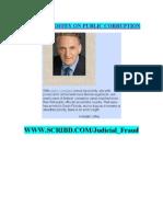 Kendall Coffey on Public Corruption