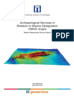 HMHS Anglia Marine Geophysical Survey Report