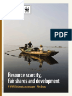 Resource Scarcity, Fair Shares and Development