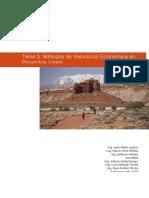 Metodos de Valoracion Economica en Proyectos Viales
