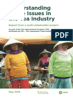 Understanding Wage Issues in the Tea Industry