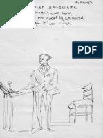 John Mortimer drawing