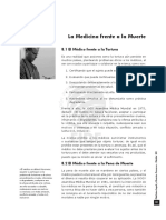 MED.legaL VII. Capitulo 8. La Medicina Frente a La Muerte