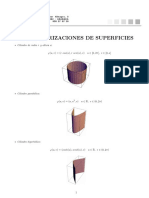 Parametrizaciones de Superficies