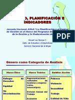 Genero Planificacion Indicadores