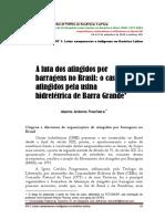 A Luta Dos Antingidos Por Barragens No Brasil -O Caso Dos Atingidos Pela Hidreletcia de Barra Grande