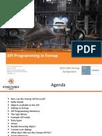APIProgramming Gustafson SDA