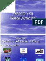 Energia y Su Transformacion