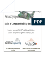 FS16 Basics of FEA Composite Modeling