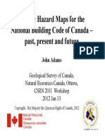 Adams_Seismic Hazard Maps Canada