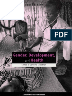 Gender, Development, and Health