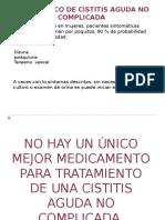 1.-Infección de Vías Urinarias