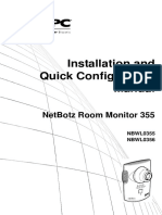 NetBotz Room Monitor 355 NBWL0355.pdf