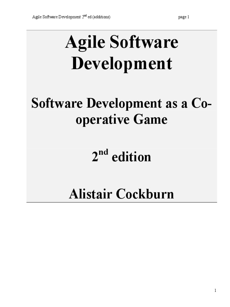 Agile Software Development As Cooperative Game Linear Integrated Circuits 2 Units Premium Lecture Notes Lavanya Engineering