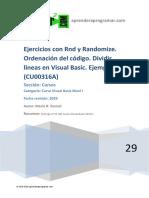 CU00316A Ejercicios ejemplos numeros aleatorios visual basic rnd randomize.pdf
