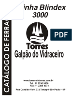 FERRAGEM BLINDEX 3000