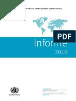 Informe de la Junta Internacional de Fiscalización de Estupefacientes correspondiente a 2016