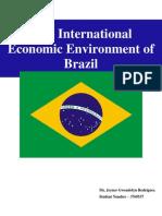The International Economic Environment of Brazil
