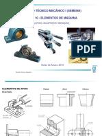 Desenho Técnico Mecânico i (Sem0564) Aula 10 - Elementos de Máquina