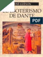 René Guénon-El Esoterismo de Dante (1925).pdf