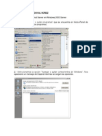 Como Instalar El Terminal Server en Windows 2003 Server