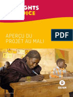 My Rights, My Voice Mali Project Overview