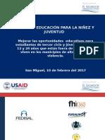 02 Presentación Directores San Miguel 13feb2017
