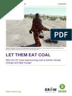 Let Them Eat Coal