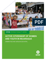 Active Citizenship of Women and Youth in Nicaragua