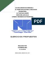 Ejercicios Propuestos de Numero de Reynolds_katherinevera