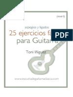 25 Ejercicios Para Guitarra