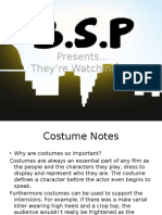Costume Notes Ppf