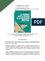La Izquierda ante el Colapso. Entrevista a Manuel Casal Lodeiro