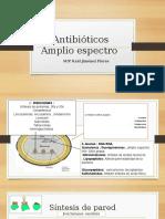 Piperacilina, Tazobactam,Tigeciclina,Teicoplamina