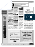 Claremont COURIER Classifieds 3-3-17